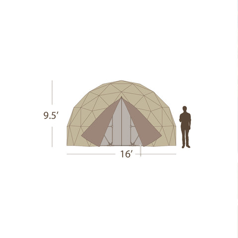 16' Emergency Shelter