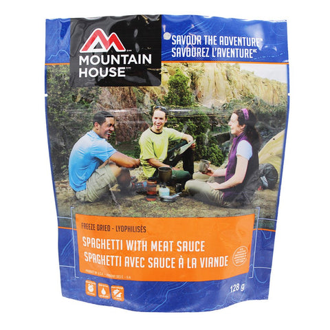 Mountain House Spaghetti with Meat Sauce Pouch