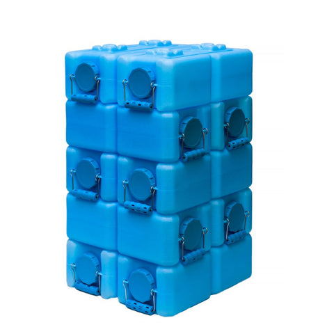 Standard WaterBrick 3.5 Gallon - Blue 10 Pack