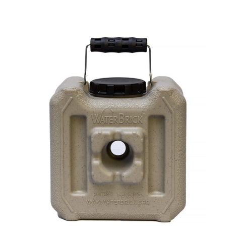 Half WaterBrick 1.6 Gallon - Tan