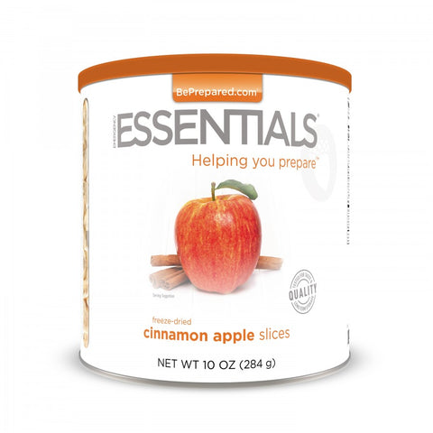 Freeze Dried Cinnamon Apple Slices - Large Can - Emergency Essentials