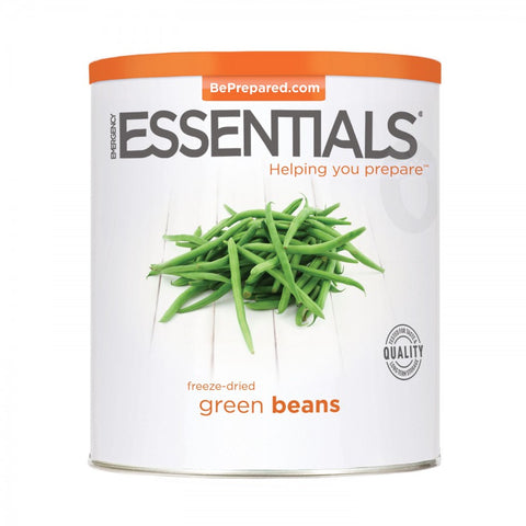 Freeze Dried Green Beans - Large Can - Emergecy Essentials