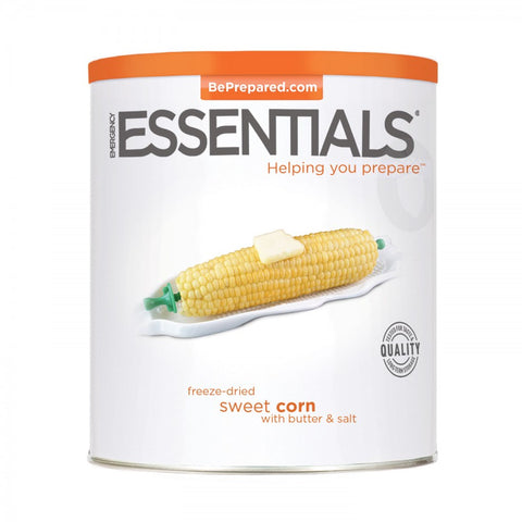 Freeze Dried Sweet Corn with Butter & Salt - Emergency Essentials