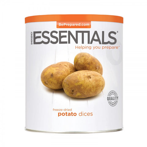 Freeze Dried Potato Dices - Large Can - Emergency Essentials