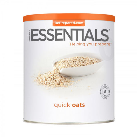 Emergency Essentials Quick Oats Large Can