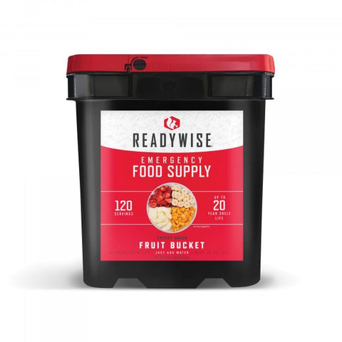 ReadyWise Emergency Freeze Dried Fruit Variety - 120 Servings