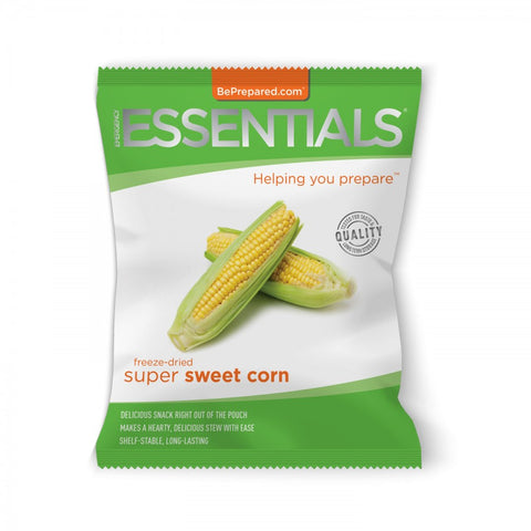 Freeze-Dried 11 Serving Corn Pouch - Emergency Essentials