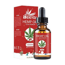 Load image into Gallery viewer, Hemp Oil Essential Oils For Humidifier Cbd Oil 10000mg Hemp Seeds Extracts Christmas Limited Massage Oil For Pain Anxiety Relief