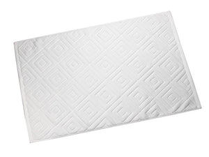 Hotel Beauty Club SPA Towel 32 Line Jacquard Thickening Water Absorption Toilet Pad Bathroom Towel Mat Bathtub Towel 80x50CM