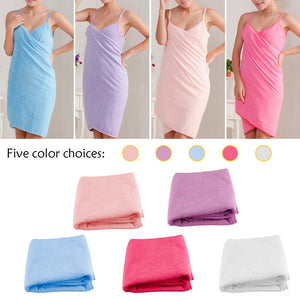 Wholesale Bath Towels Hot  Lady Girls Wearable Fast Drying Magic Bath Towel Beach Spa Bathrobes Bath Skirt
