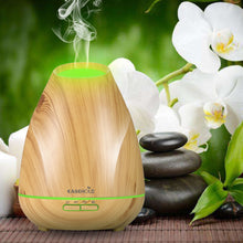 Load image into Gallery viewer, EASEHOLD 400Ml Essential Oil Diffuser Air Aroma Humidifier Aromatherapy Electric Ultrasonic Diffuser Mist 30s Internal 7 Colors