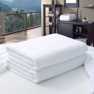 New Luxury Large Hotel White Cotton Bath Towel for Adults SPA Sauna Beauty Salon Towels Bedspread Bathroom Beach Towel 6 sizes