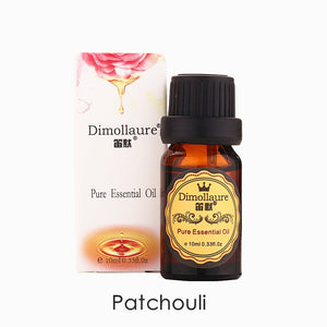 Dimollaure Patchouli essential oil natural acne treament Diminish inflammation Aphrodisiac Encourage Repel mosquitoes skin care