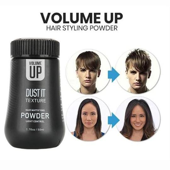 BUY 2 VOLUME UP HAIR STYLING POWDER & GET 10% OFF