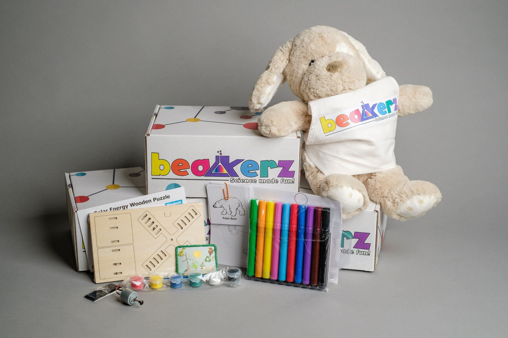 6-Month Pre-Paid Beakerz Science Box Set (Delivered Monthly) Boxes 1-6