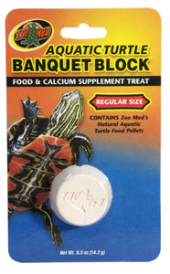 Zoo Med Aquatic Turtle Banquet	Block
