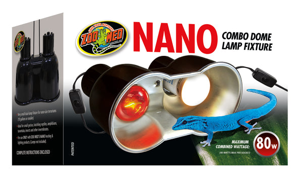Zoo Med Nano Combo Dome Lamp