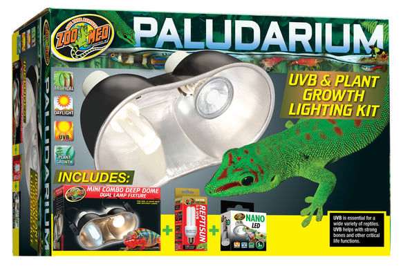 Zoo Med Paludarium UVB & Plant Growth Lighting Kit
