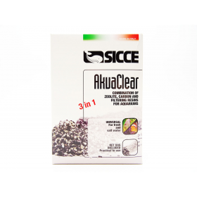 Sicce Akuaclear Resin, Carbon, Zeolite