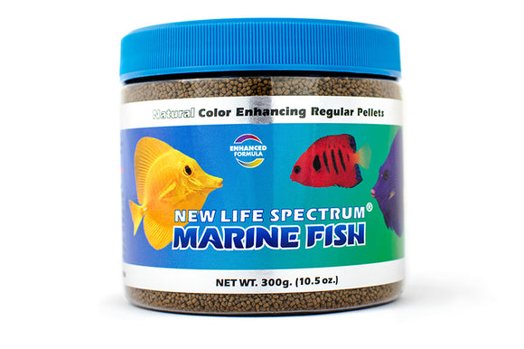 New Life Marine Fish Regular Pellet Sinking 1mm-1.5mm 300g