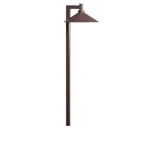 Kichler Ripley™ 3000K Path Light Textured Architectural Bronze (15800AZT)