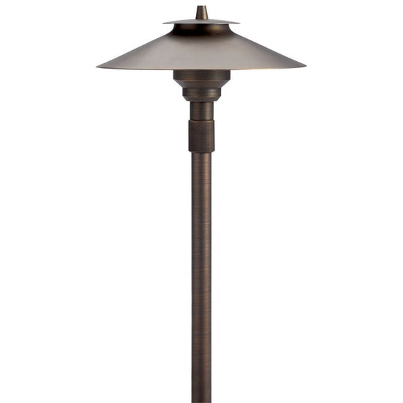 Kichler 12V Large Adjustable Height Path Light Centennial Brass (15503CBR)