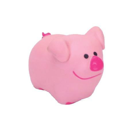 Latex Dog Toy, Pig