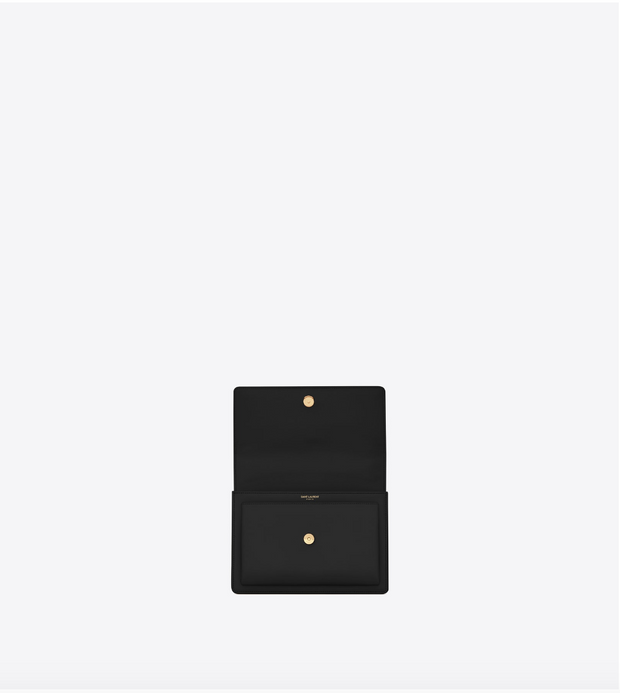 SAINT LAURENT / 생로랑 선셋 미디움 숄더백 블랙 Sunset medium in smooth leather