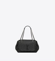 SAINT LAURENT / 생로랑 NOLITA 미듐 빈티지 블랙 Nolita medium bag in vintage leather