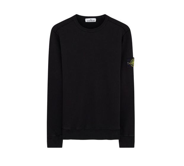 STONE ISLAND / 스톤아일랜드 맨투맨 블랙 62720 Crewneck sweatshirt in black
