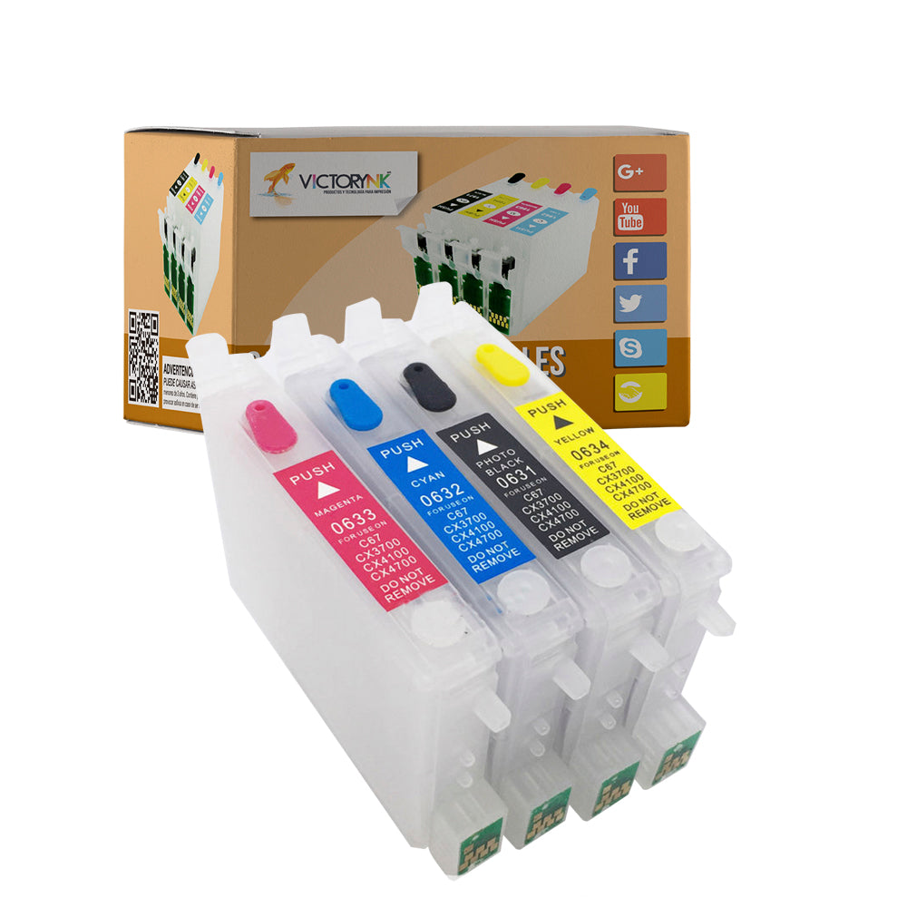 Cartucho recargable autoreseteable EPSON 631