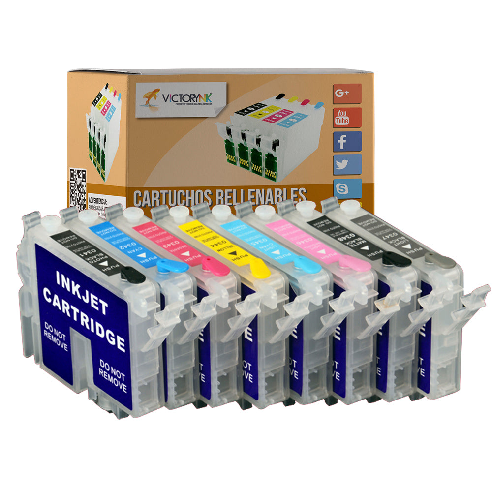 Cartucho recargable autoreseteable EPSON 2200 plotter