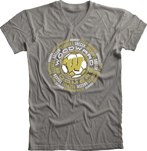 Boomer Soccer Circle V-Neck