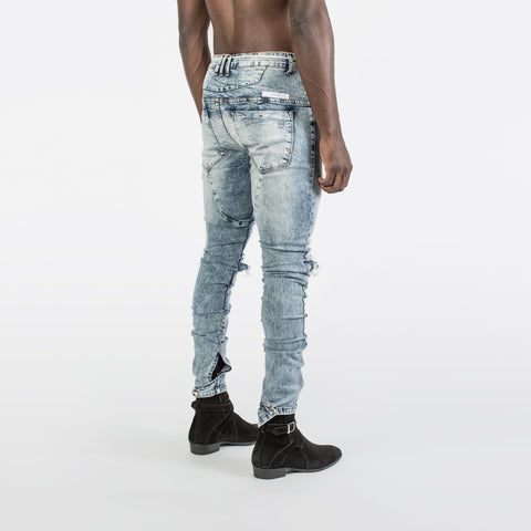 Kollar Blown Out knee denim - Mansion Boutique, Durham, NC