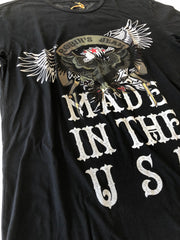 Robin's Jeans T-Shirt Black Vintage - Mansion Boutique, Durham, NC