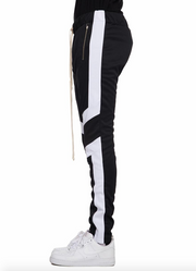 black track pants motto cross style by eptm - Mansion Boutique, Durham, NC