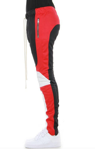 Color Block motto cross track pants by eptm - Mansion Boutique, Durham, NC