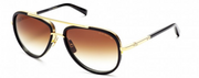 Dita mach -two sun glasses brown -black gold 22k - Mansion Boutique, Durham, NC