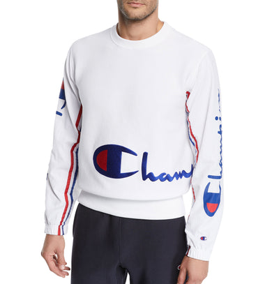 White Champion Vintage Sweater 212374 - Mansion Boutique, Durham, NC
