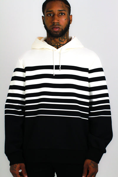 Neil Barrett Striped Hoodie - Mansion Boutique, Durham, NC