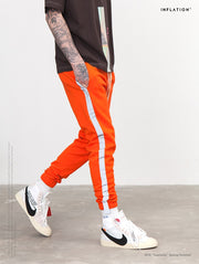 Striped Reflective track Pants for men - Mansion Boutique, Durham, NC