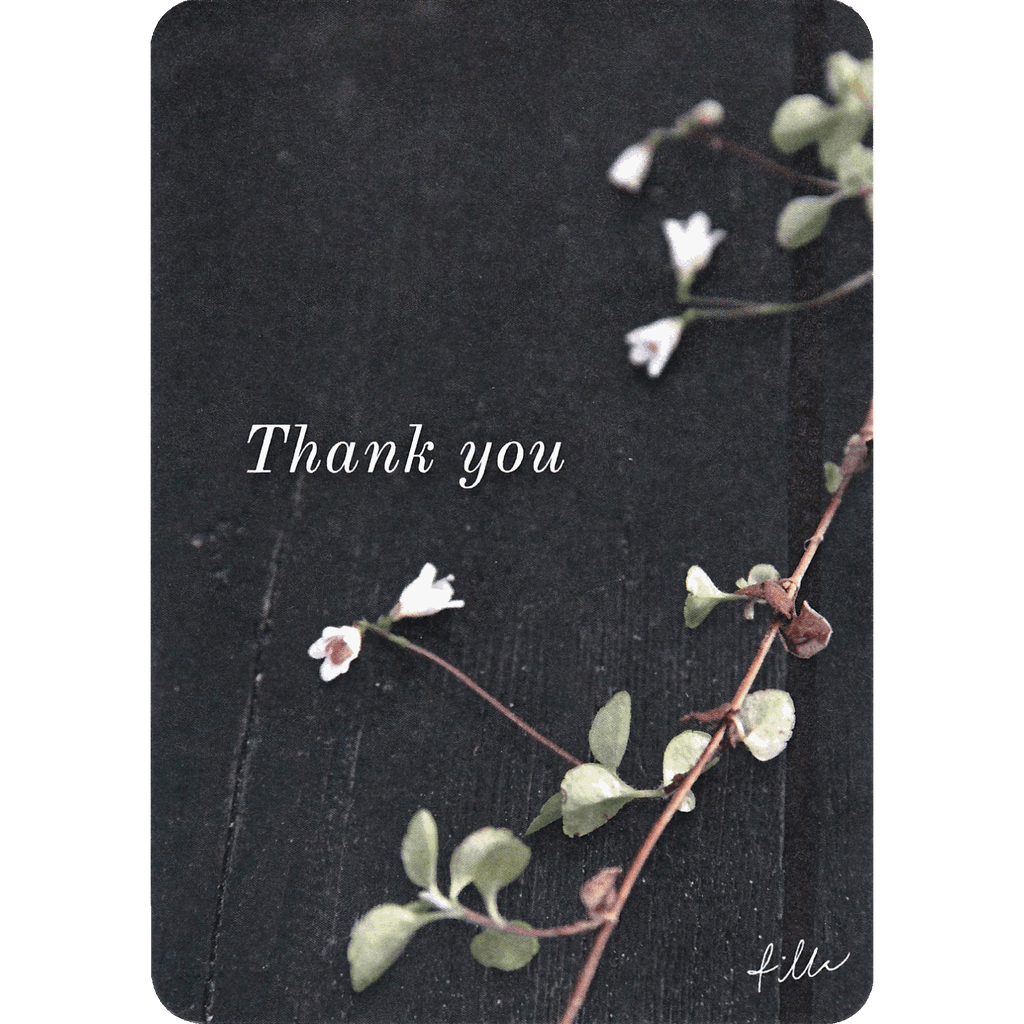 Thank you -postcard