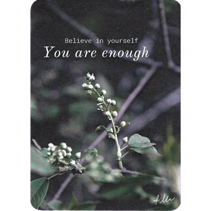 You are enough -postcard