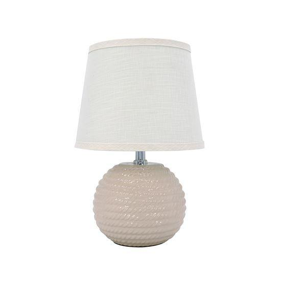 Ivory Accent Lamp - The Vintage Home Studio