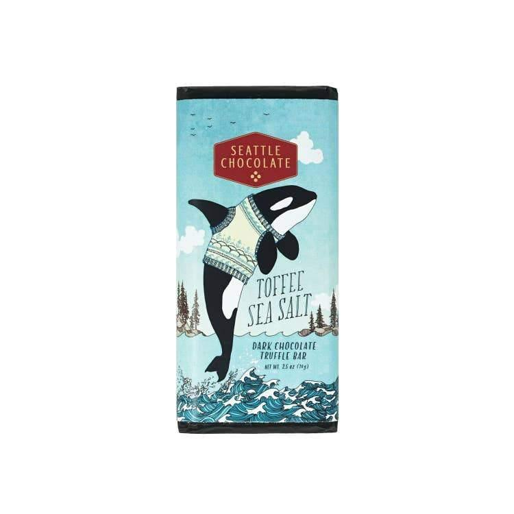 Toffee Sea Salt Truffle Bar - The Vintage Home Studio