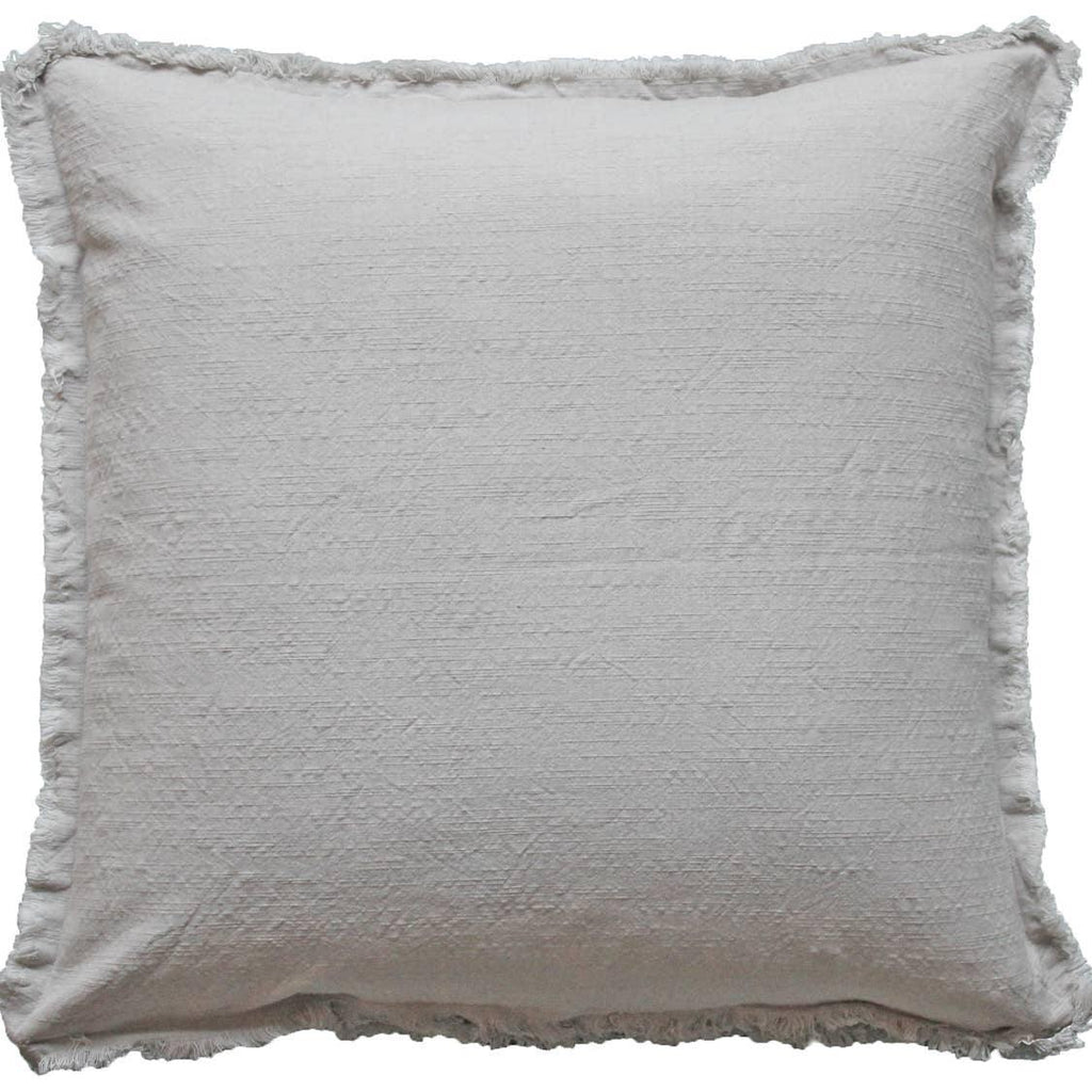 Fringe Pillow (Cover Only) - The Vintage Home Studio