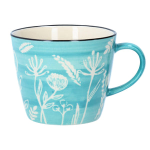 Blue Meadow Ceramic Mug
