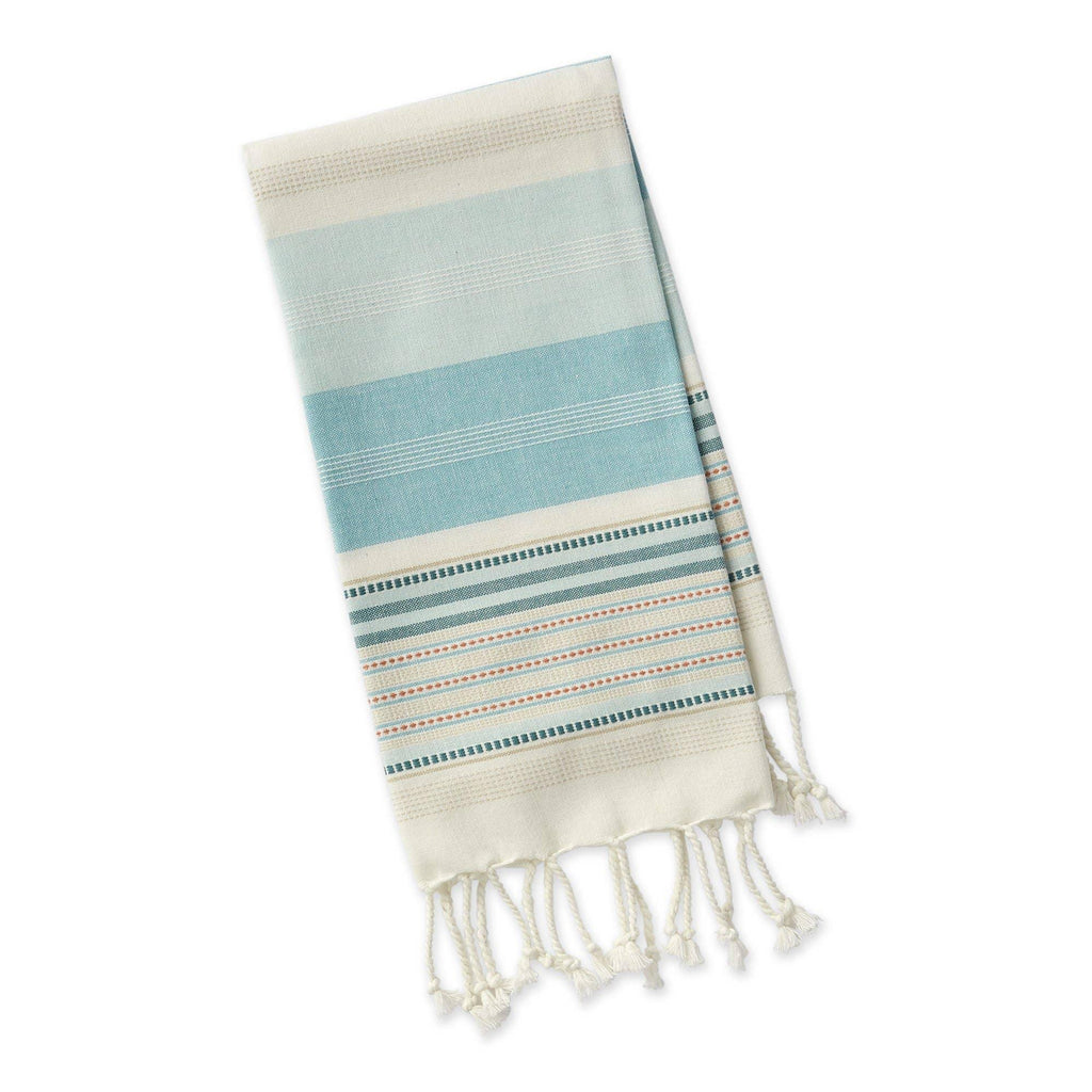 Shoreline Stripe Fouta Towel - The Vintage Home Studio