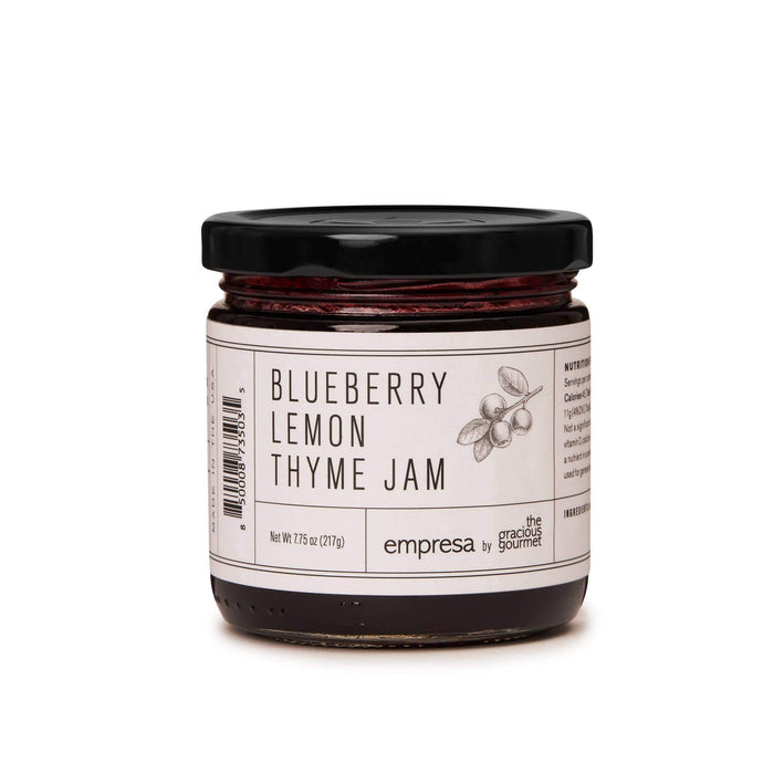 Blueberry Lemon Thyme Jam - The Vintage Home Studio