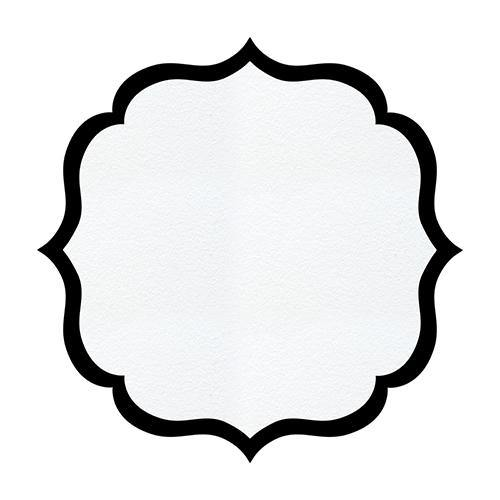 Arabesque Cardboard Serving Tray